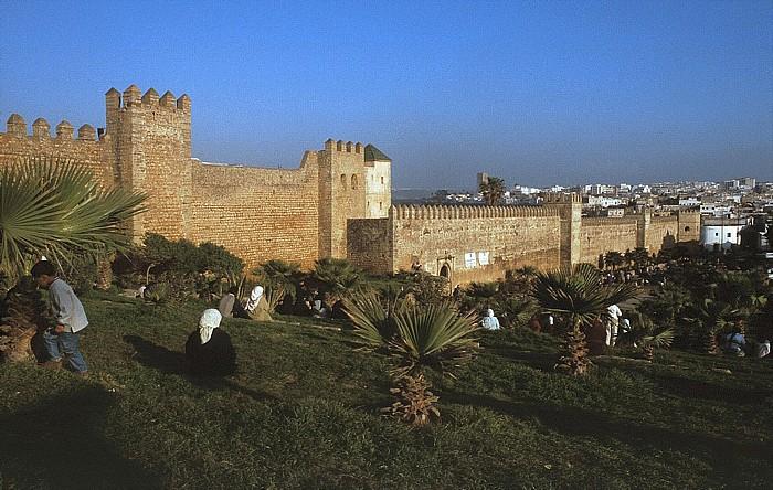 Rabat Stadtmauer der Medina
