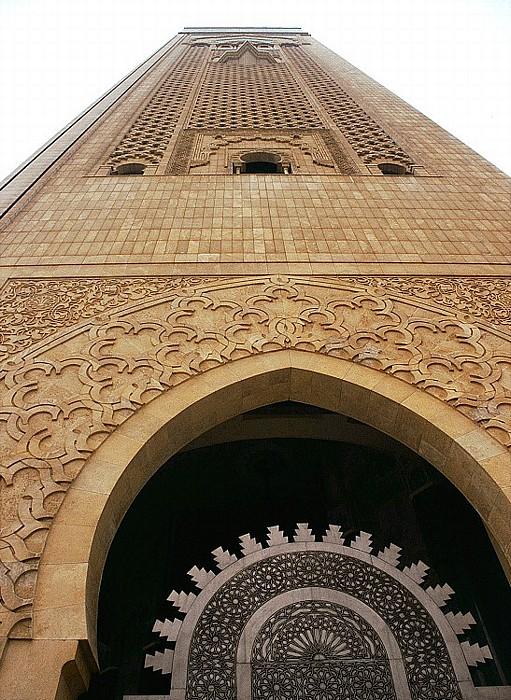 Casablanca Moschee Hassan II: Minarett