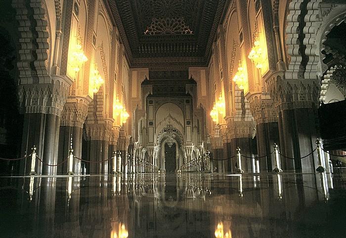 Casablanca Moschee Hassan II: Gebetsraum