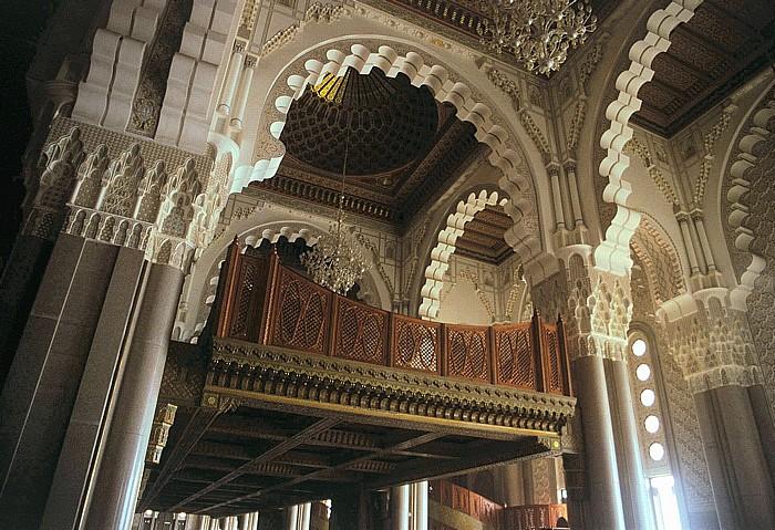 Casablanca Moschee Hassan II: Frauengalerie