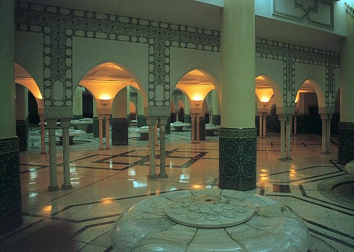 Casablanca Moschee Hassan II: Hammam