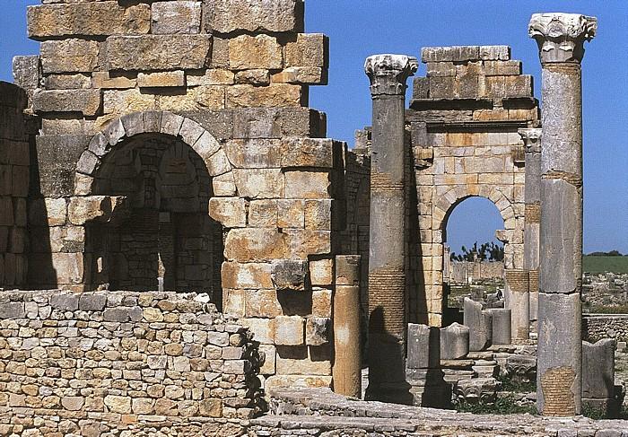 Volubilis Römische Ausgrabungen: Basilika