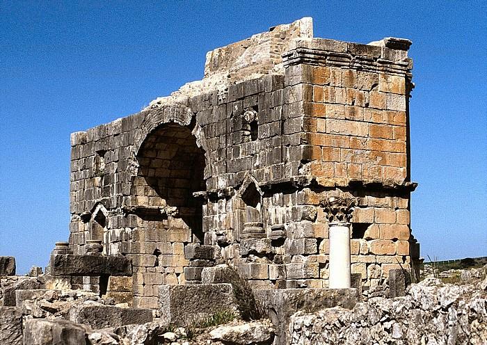 Volubilis Römische Ausgrabungen: Triumphbogen