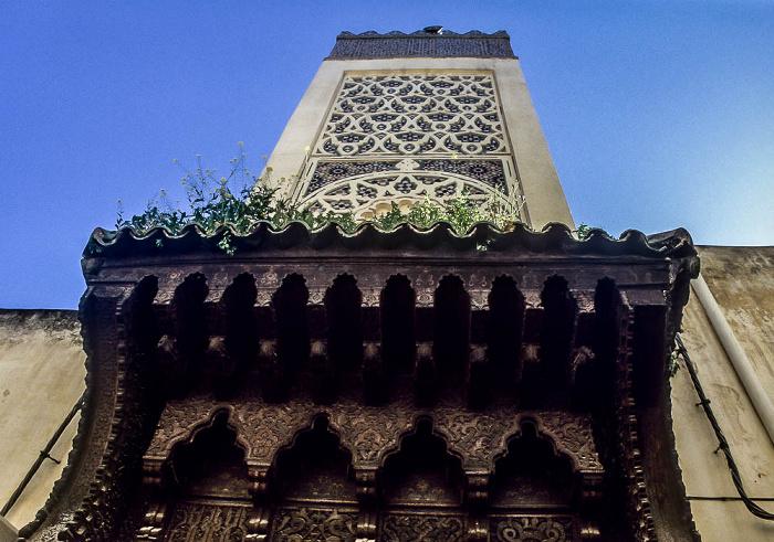 Fès Minarett der Medersa Bou Inania