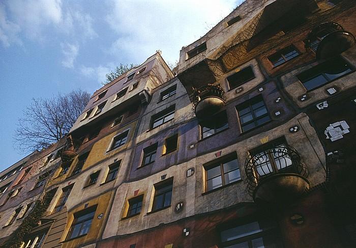 Wien Landstraße (III. Bezirk): Hundertwasserhaus Hundertwasser-Haus