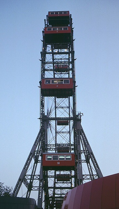 Wiener Prater (Wurstelprater): Riesenrad Wien 2003