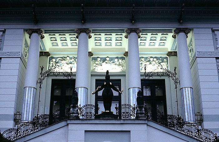 Wien Hütteldorf (Penzing): Villa Wagner I (Otto-Wagner-Villa, Ben-Tieber-Villa, (Ernst-)Fuchs-Villa)