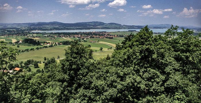 Schwangau Schloss Neuschwanstein: Blick auf den Forggensee
