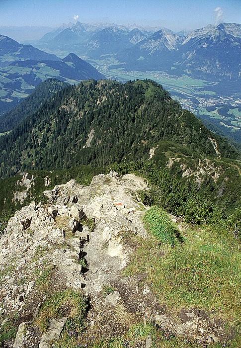 Gratlspitz Karwendelgebirge und Inntal