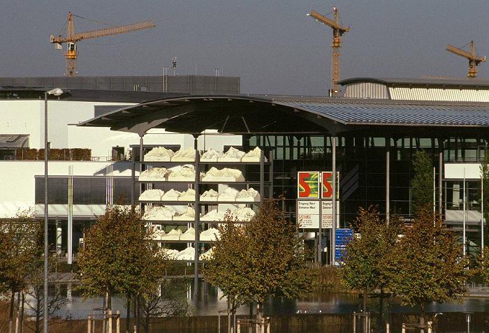 München Messe MMI / Internationales Congress Center ICM: Eingang West