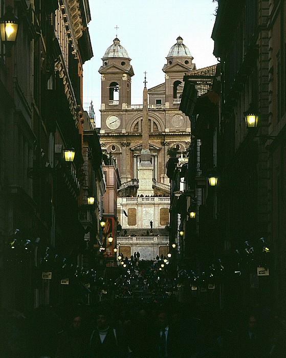 Spanische Treppe und Trinita dei Monti Rom