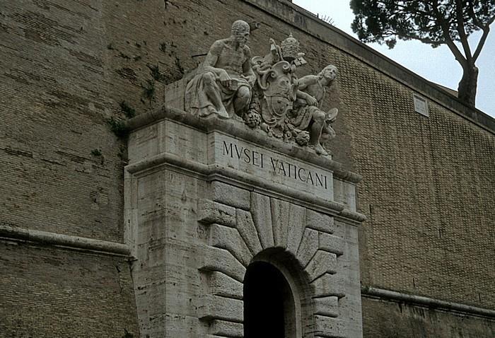 Vatikanische Museen: Eingang