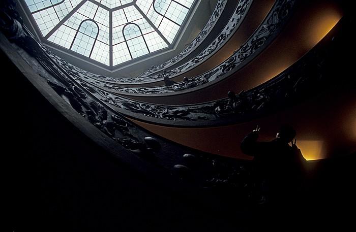 Vatikanische Museen: Spiral-Treppe