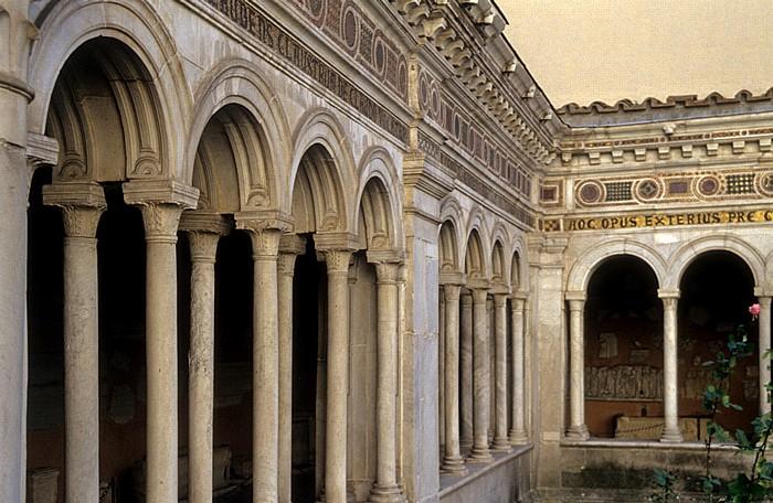 Rom St. Paul vor den Mauern: Kreuzgang