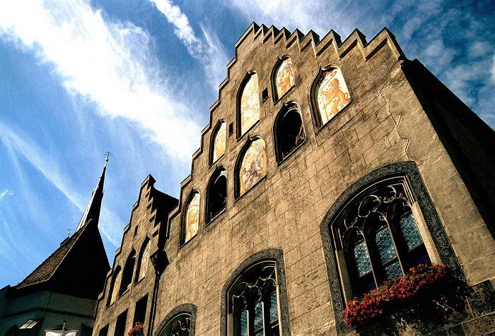 Wasserburg am Inn Rathaus Frauenkirche