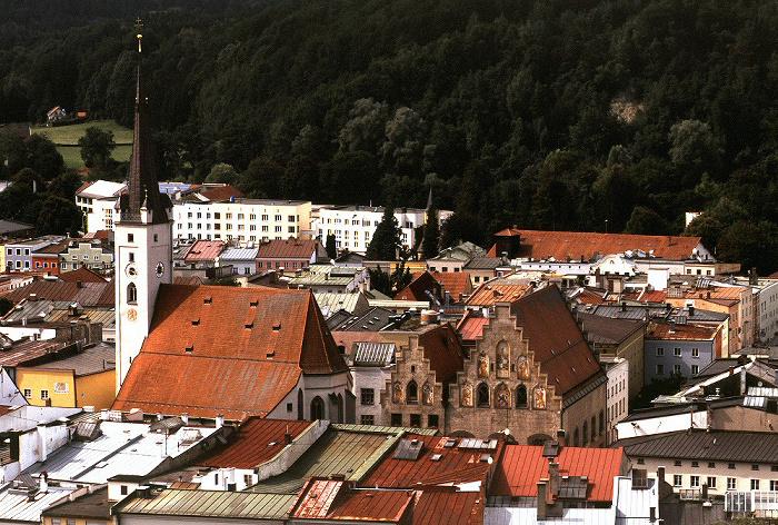 Wasserburg am Inn Schöne Aussicht: Frauenkirche und Rathaus Aussichtspunkt