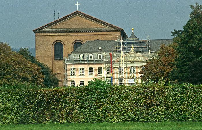 Trier Kurfürstliches Palais und Basilika