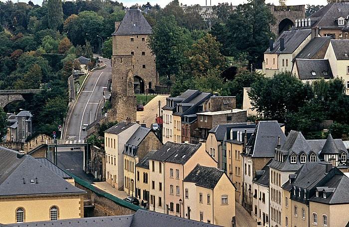 Luxemburg Unterstadt Grund Altes Trierer Tor