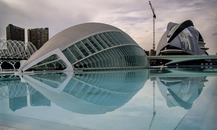L'Hemisfèric, Palacio de las Artes Valencia