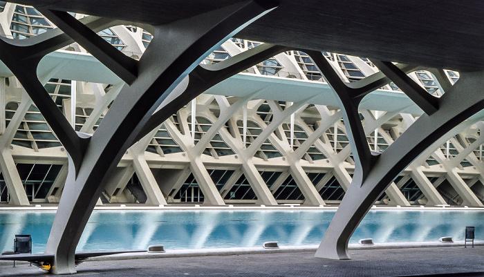 Prinz-Felipe-Wissenschaftsmuseum Valencia