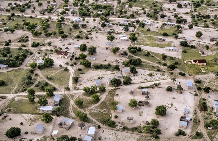 Maun Luftbild aerial photo