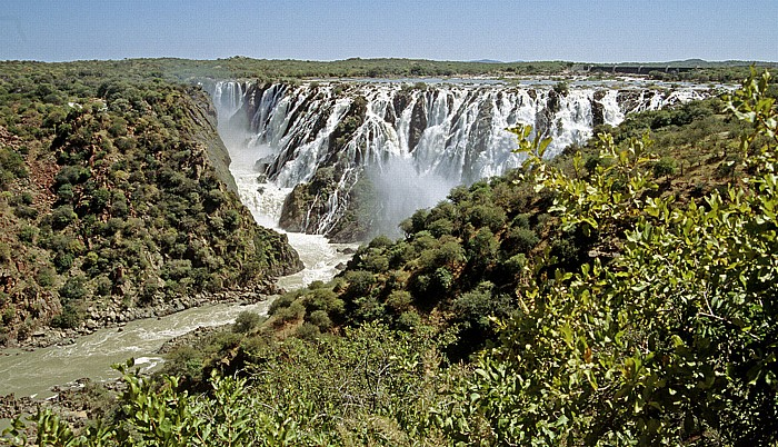 Ruacanafälle des Kunene