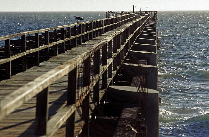 Swakopmund Eisenbrücke Jetty