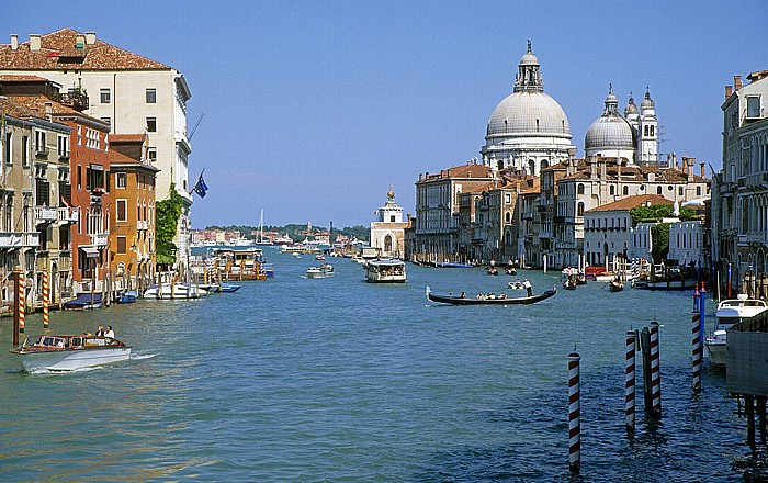 Venedig Canal Grande, Santa Maria della Salute