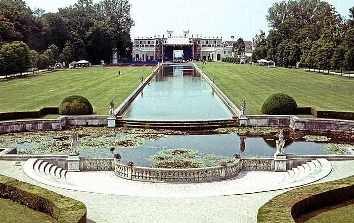 Stra Blick aus der Villa Pisani: Park der Villa Pisani