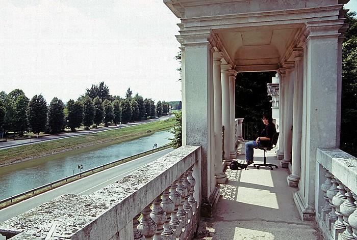 Stra Park der Villa Pisani: Belvedere-Portal