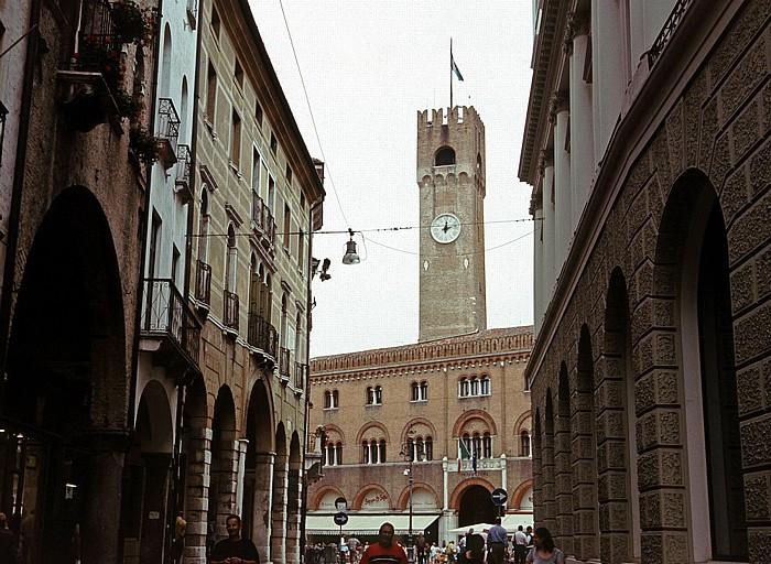 Treviso Palazzo del Podestà, davor die Piazza dei Signori