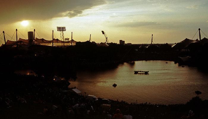 München Olympiapark: Olympiastadion, Olympiasee, Olympiahalle