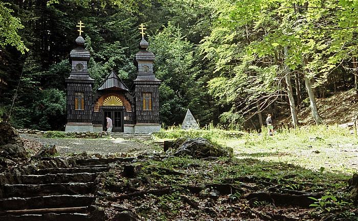 Julische Alpen Russische Kapelle