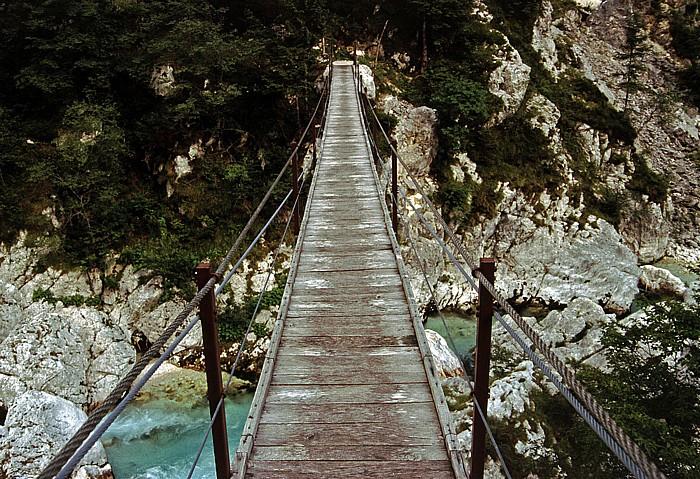 Soca-Tal Hängebrücke