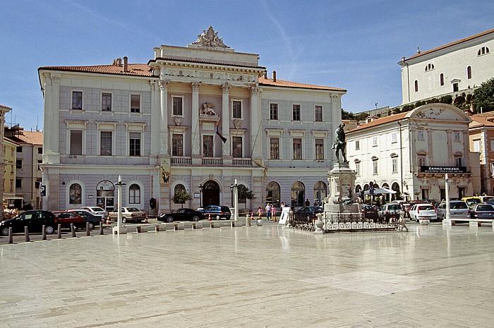 Piran Rathaus, Tartini-Platz