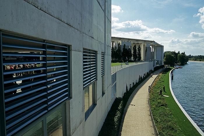 Tiergarten (Regierungsviertel): Bundeskanzleramt Berlin 2005