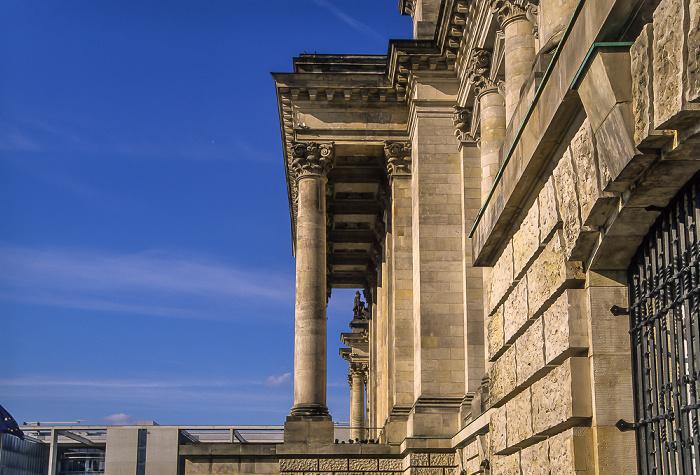 Berlin Tiergarten (Regierungsviertel): Reichstagsgebäude Paul-Löbe-Haus