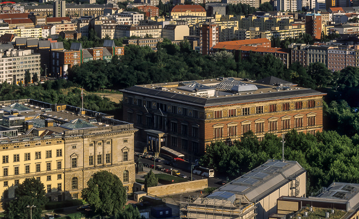 Blick vom Gebäude Potsdamer Platz 1: Martin-Gropius-Bau Berlin 2005