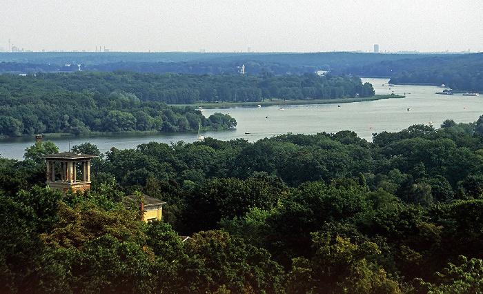 Potsdam Blick vom Belvedere auf dem Pfingstberg: Havel und Berlin