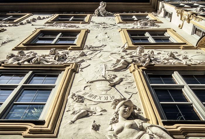 München Ehem. Wohnhau von Egid Quirin Asam