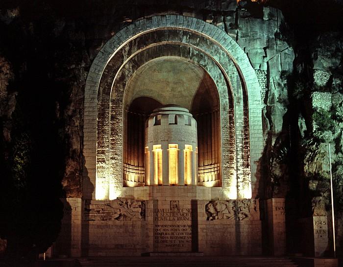 Nizza Monument aux Morts (Denkmal für die französischen Kriegstoten)