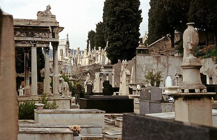 Nizza Jüdischer Friedhof auf Schlosshügel