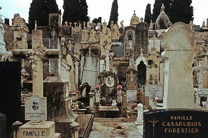 Nizza Katholischer Friedhof auf Schlosshügel