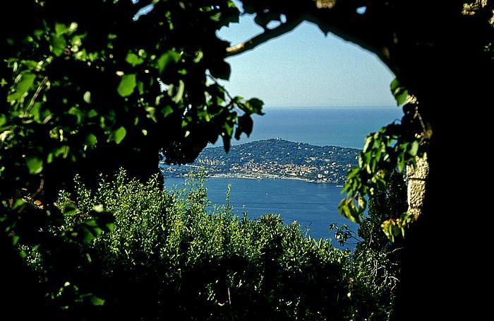 Èze Blick auf St-Jean-Cap-Ferrat