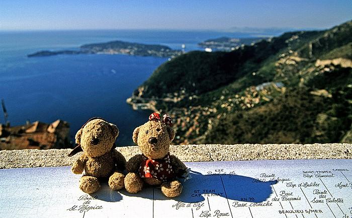Èze Teddy und Teddine