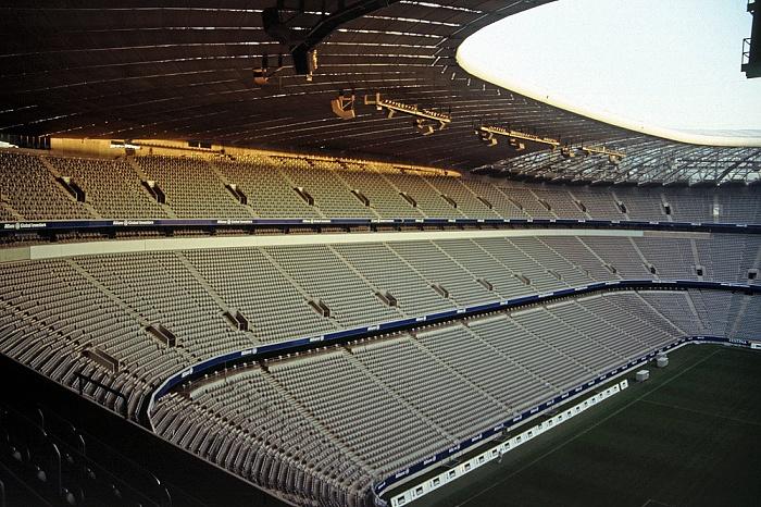 Allianz Arena: Gegentribüne München 2005