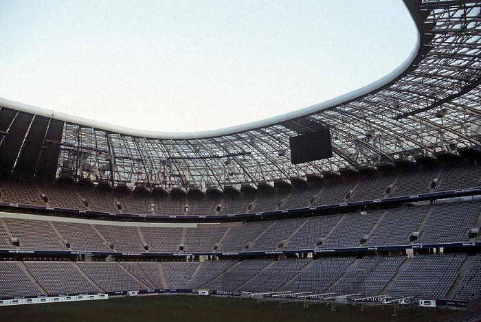 München Allianz Arena: Gegentribüne und Südkurve