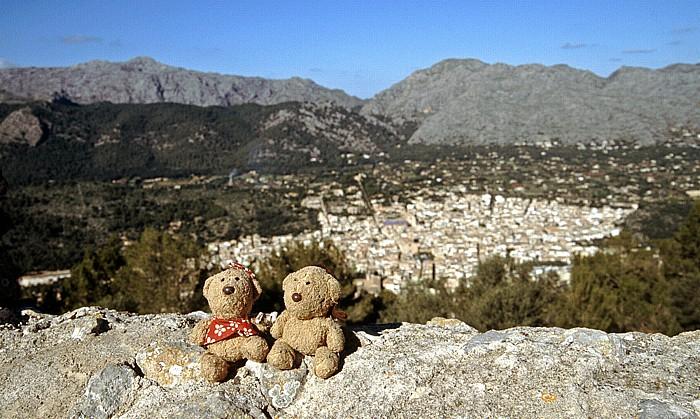 Puig de Santa Maria Gipfel: Teddine und Teddy