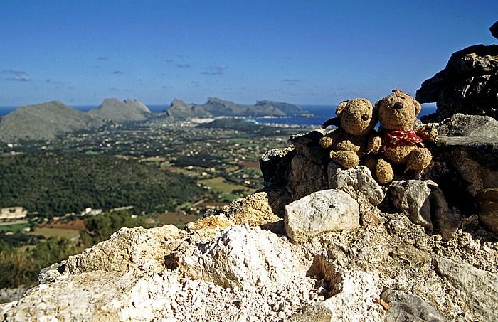 Puig de Santa Maria Gipfel: Teddy und Teddine