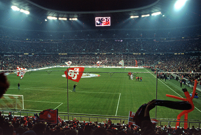Allianz Arena: DFB-Pokal-Achtelfinale FC Bayern München - Hamburger SV